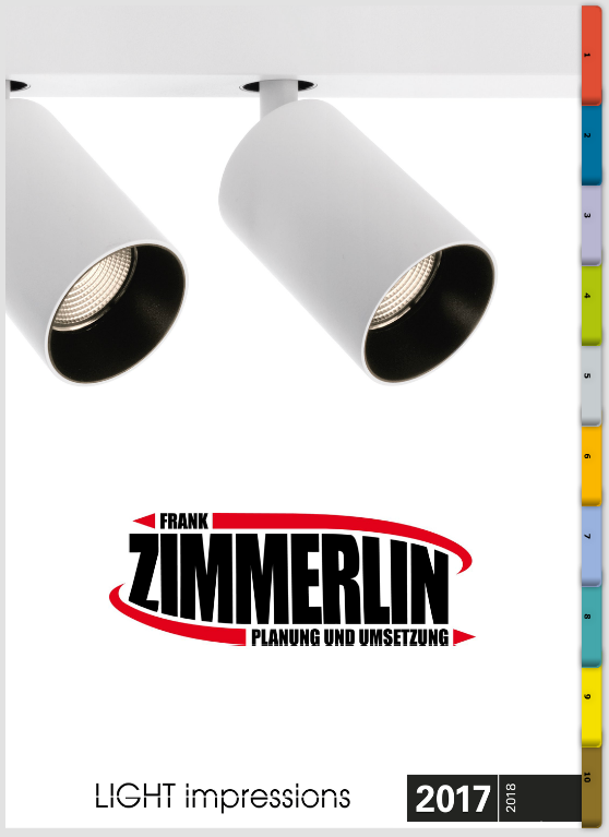 Frank Zimmerlin Freiburg Beleuchtungs Katalog